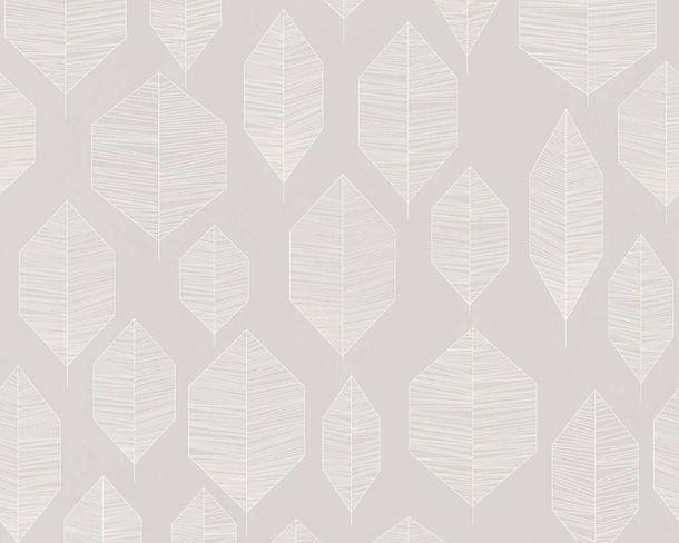 Non-Woven Wallpaper Floral grey white livingwalls 36209-5 online kaufen