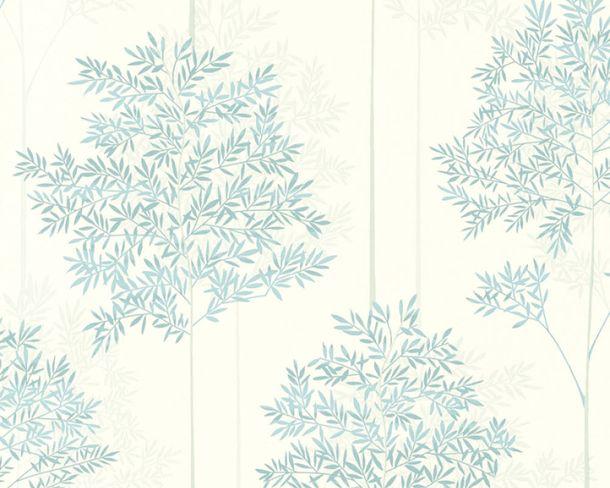 Vlies-Tapete Baum Natur türkis weiß livingwalls 36626-1 online kaufen
