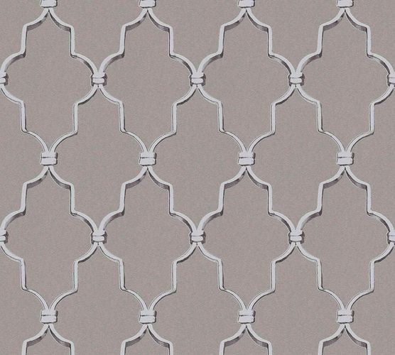 Michalsky Design Wallpaper baroque taupe silver 36502-2 online kaufen