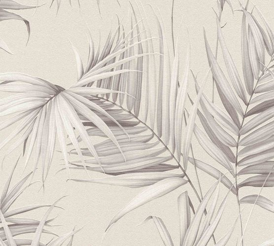Michalsky Design Wallpaper leaves beige grey 36505-2 online kaufen