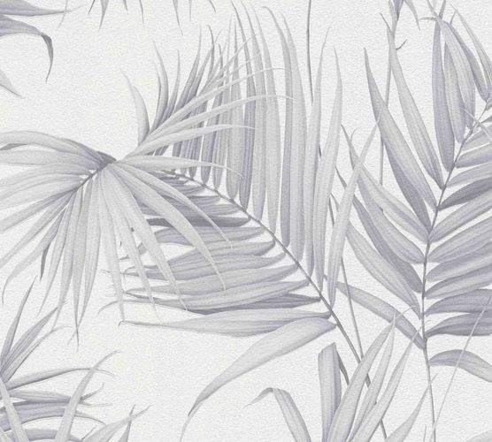 Michalsky Design Wallpaper leaves white grey 36505-4 online kaufen