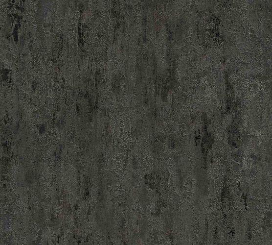 Vliestapete Patina Used schwarz silber Metallic 32651-5 online kaufen
