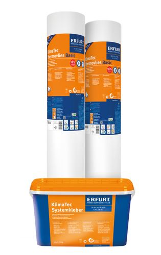 Wall Insulation Erfurt KlimaTec Basic | 2 rolls + adhersive