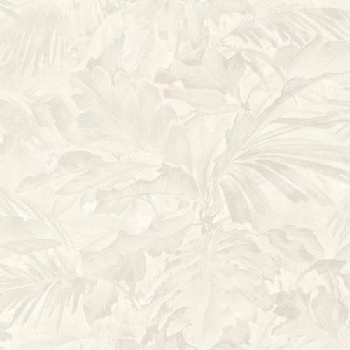 Rasch Vliestapete Blätter Schattiert cremeweiß 529203 online kaufen