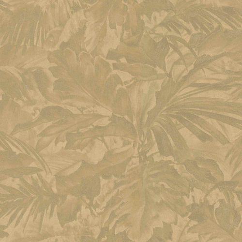 Rasch Vliestapete Blätter Schattiert gold braun 529234 online kaufen