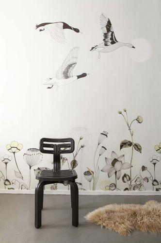 Fototapete Natur Blumen creme schwarz Onszelf 532005 online kaufen