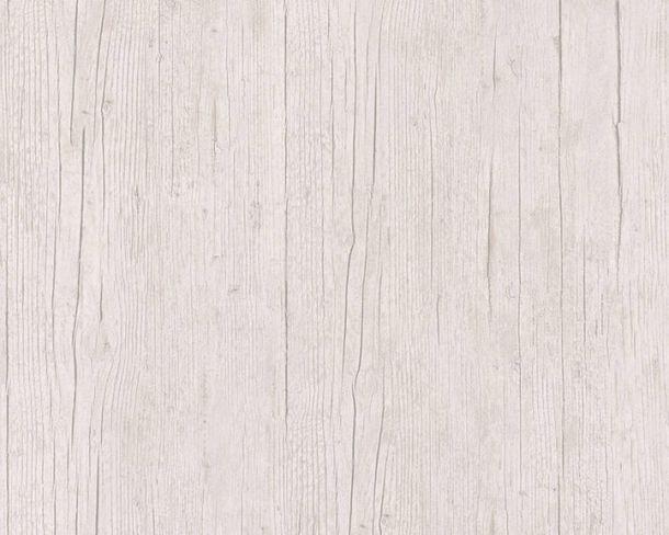 Tapete Vlies Holzbalken Textur beige grau 36487-2