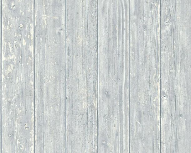 Wallpaper Non-Woven wood panels used look grey 36573-3 online kaufen