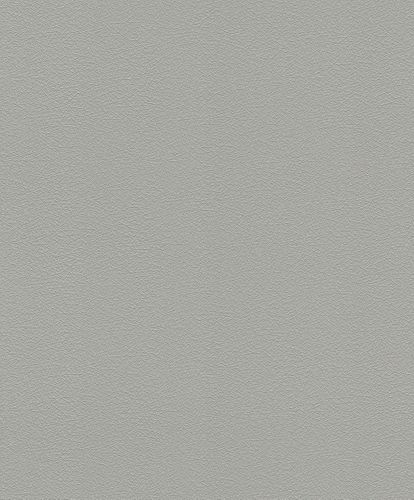 Tapete Vlies Uni strukturiert dunkelgrau Rasch 474947