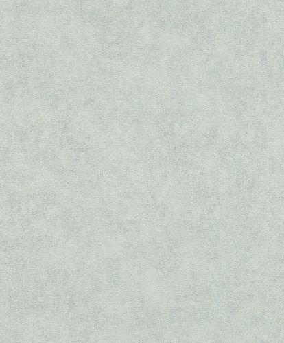 Tapete Vlies Uni Vintage-Design hellblau Rasch 708035