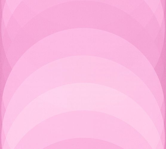 Non-woven Wallpaper Circles Graphic pink 36675-2