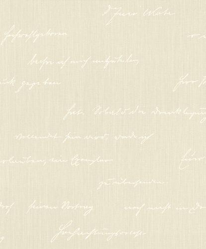 BARBARA Home Tapete Schrift beige weiß 522167 online kaufen