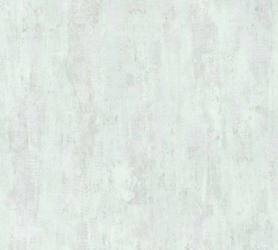 Non-Woven Wallpaper Plaster green silver Gloss36493-3