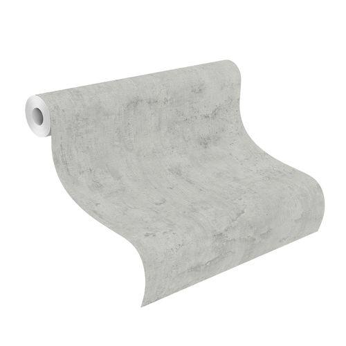 Tapete Vlies Rasch Putz Wand grau 407341 online kaufen