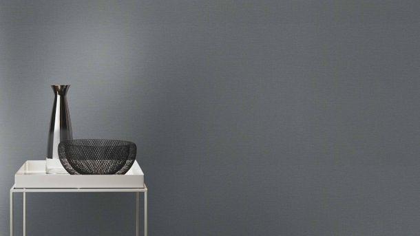Tapete Vlies Rasch Uni Textil dunkelgrau 804522 online kaufen