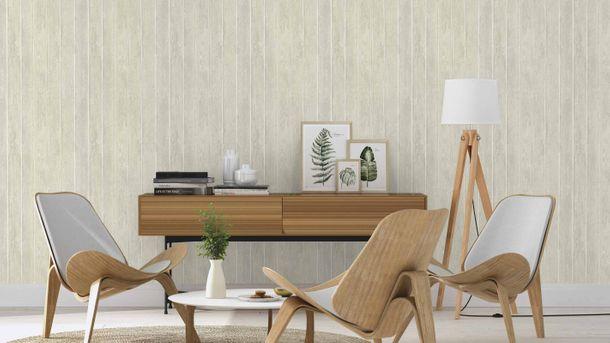 Tapete Vlies Rasch Holz Textur beigegrau weiß 809220 online kaufen
