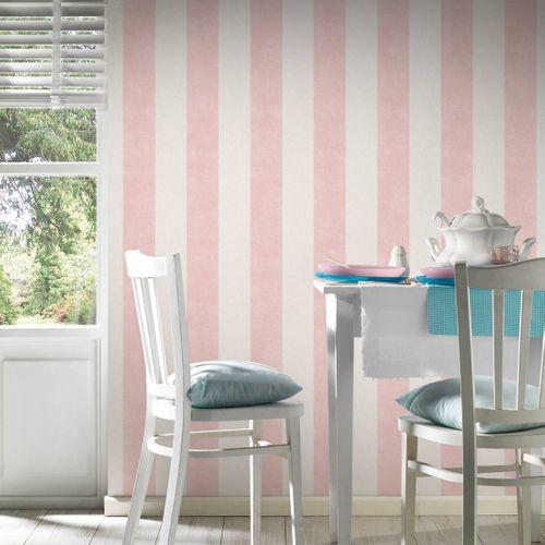 Tapete Vlies Gestreift rosa pink 36718-4 online kaufen