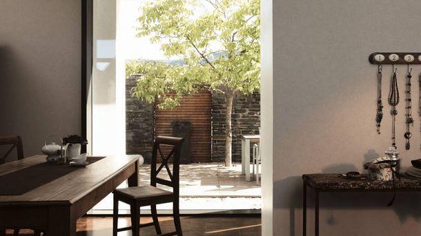 Non-Woven Wallpaper Plain Baroque light grey 36720-7 online kaufen