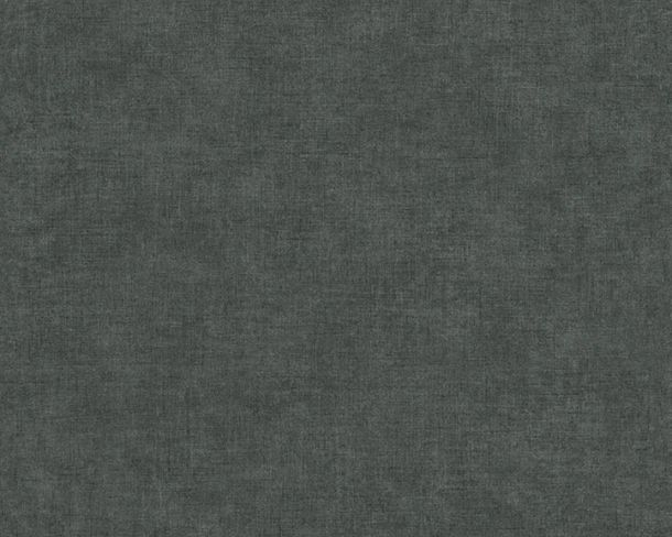 Non-Woven Wallpaper Plain Used Look anthracite 36721-9