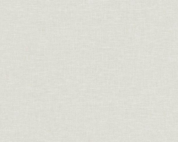 Tapete Vlies Leinen-Optik hellgrau Linen Style 36634-1