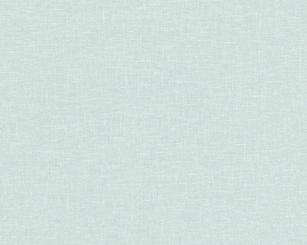 Tapete Vlies Leinen-Optik türkis Linen Style 36634-3