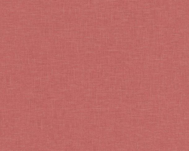 Non-woven Wallpaper Linen red Linen Style 36635-1