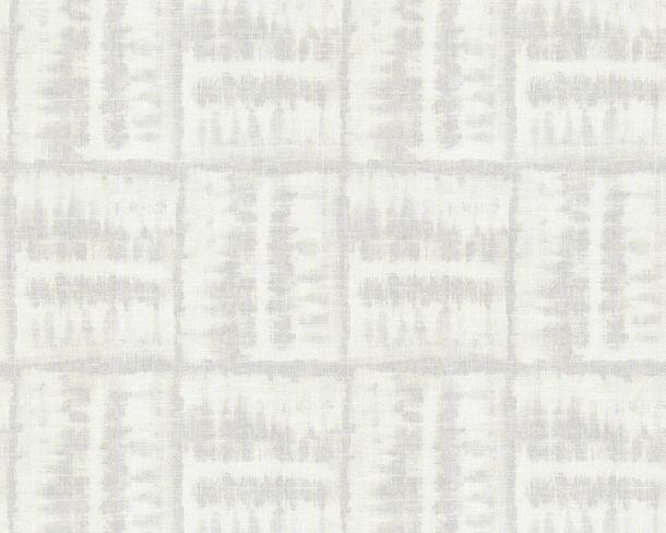 Tapete Vlies Fliesen Aquarell weiß Linen Style 36637-2