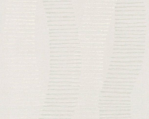 Non-woven Wallpaper Stripes grey Linen Style 36758-2 buy online