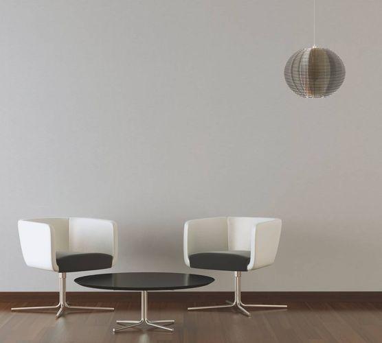 Tapete Vlies Einfarbig hellgrau Linen Style 36761-2 online kaufen