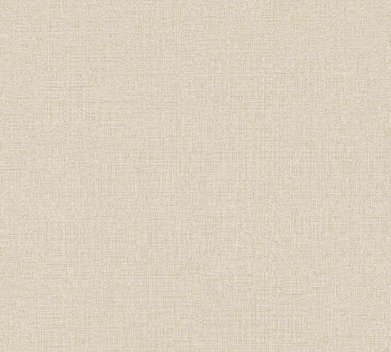 Non-Woven Wallpaper Plain Linen beige 36776-2