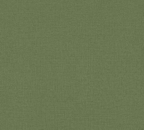 Non-Woven Wallpaper Plain Linen green 36777-3