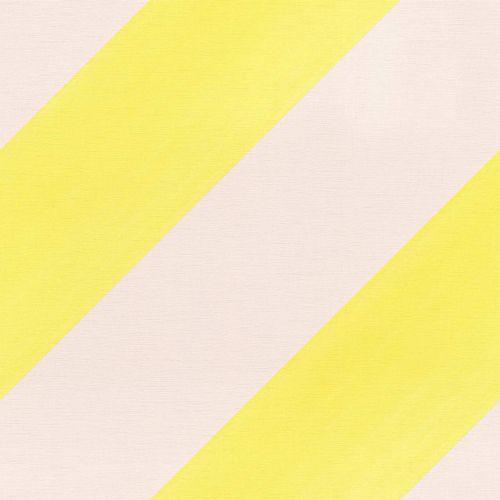 Kindertapete Rasch Streifen Diagonal rosa neongelb 531619
