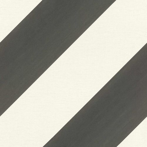 Kids Wallpaper Rasch stripes diagonal anthracite 531626