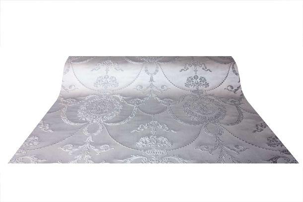 Satin Wallpaper Baroque silver Gloss Rasch 532128 online kaufen