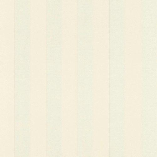 Satin Wallpaper Stripes cream Gloss Rasch 532319