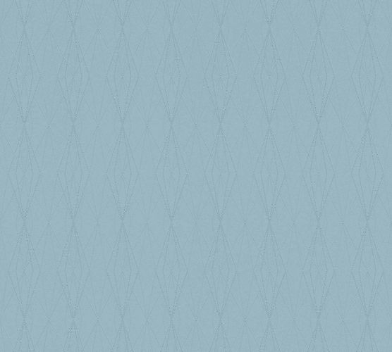 Non-Woven Wallpaper Graphic Diamond light blue 36879-2