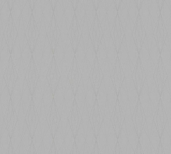 Non-Woven Wallpaper Graphic Diamond grey 36879-8