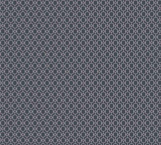 tapete vlies 3d grafik schwarz silber glitzer 36883 1. Black Bedroom Furniture Sets. Home Design Ideas