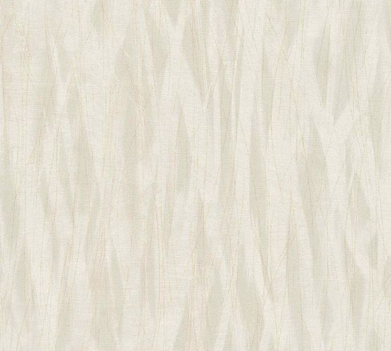 Non-Woven Wallpaper Stripes Waves grey beige 36884-2 online kaufen