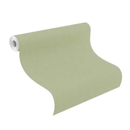Tapete Vlies 423938 Einfarbig grün online kaufen