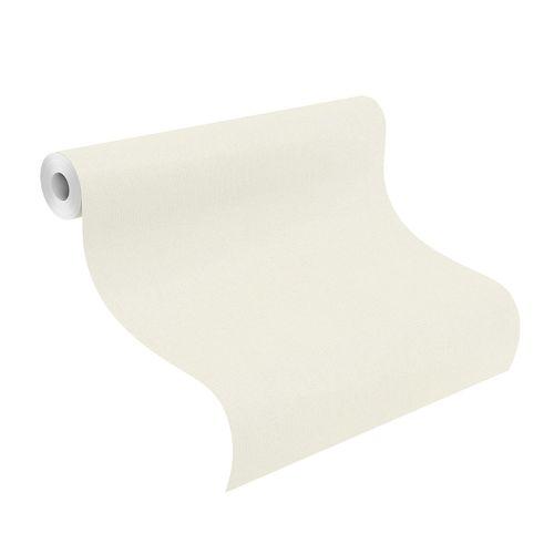Tapete Vlies 424010 Einfarbig weiß online kaufen