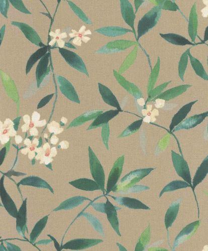 Vliestapete Rosen Textil Vintage braun Rasch 424935 online kaufen