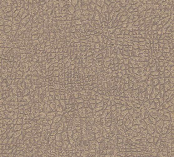 Tapete Vlies Elefant Haut braun gold Glanz 36970-1 online kaufen
