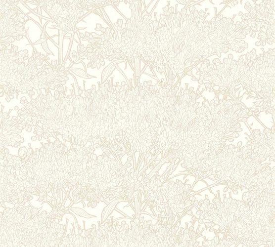 Tapete Vlies Baum Floral cremeweiß taupe Glanz 36972-7 online kaufen