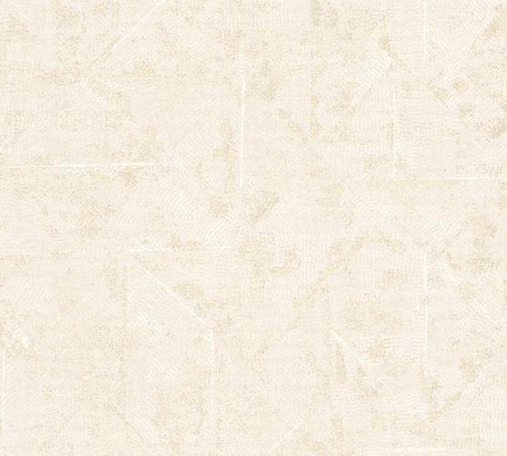 Tapete Vlies Vintage Karo creme-beige creme 36974-3