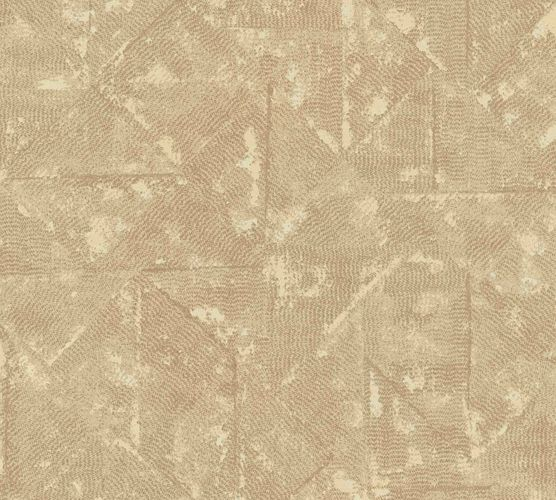 Tapete Vlies Vintage Karo beige Metallic 36974-5 online kaufen