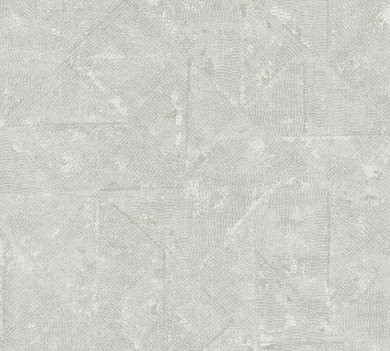 Tapete Vlies Vintage Karo Hellgrau 36974-7 online kaufen