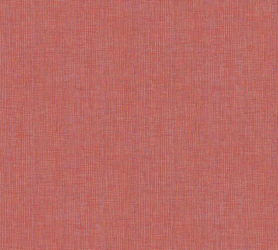Tapete Vlies Textil-Optik rot orange 36976-1