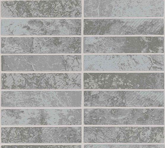 Vinyl Wallpaper ApronTiles grey silver Glitter 34818-3 online kaufen