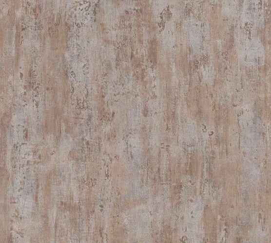 Vliestapete Patina Putz braun silber Metallic 36493-1 online kaufen
